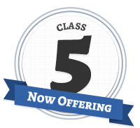 Now Offering Class 5