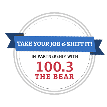 Take Your Job & Shift It! A Contest in Partnership with 100.3 The Bear